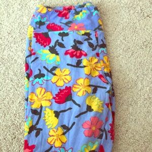 Lularoe TC leggings floral